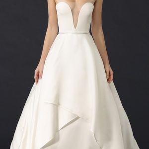 Reem Acra She's Forever Ivory Wedding Dress